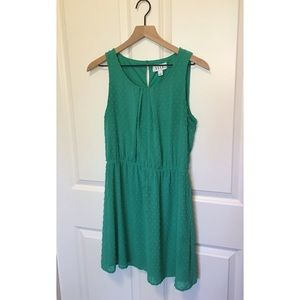Elle green dress